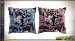 COUSSIN POLYESTER 45X45 420 GR. FEUILLES 2 MOD.