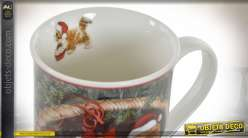 MUG INFUSIONS PORCELAINE 18X16X8 330 ANIMAUX DE CO