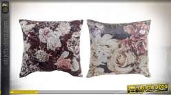 COUSSIN POLYESTER 45X45 420 GR. FLORAL 2 MOD.