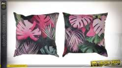 COUSSIN POLYESTER 45X45 530 GR. FEUILLES 2 MOD.