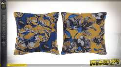 COUSSIN POLYESTER 45X45 550 GR. FLORAL 2 MOD.