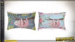 COUSSIN POLYESTER 40X25 200 GR. OURS PARESSEUX 2 M