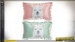 COUSSIN POLYESTER 50X30 340GR. LAMA 2 MOD.