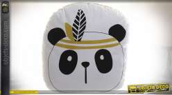 COUSSIN POLYESTER TOILE 35X34 000 GR. PANDA BLANC