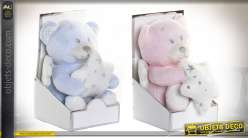 PELUCHE POLYESTER 14X10X21 OSITO 2 MOD.
