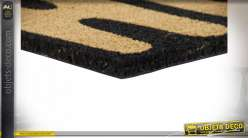 PAILLASSON FIBRE COCO PVC 60X40X1,5 2 MOD.