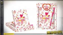JOURNAL CARTON PAPIER 14,5X2,5X19,5 SUPERSWEET