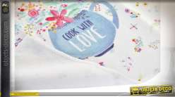 CHIFFON MICROFIBRE 40X60 0,05 COOK WITH LOVE 2 MOD