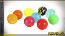 BALLON SILICONE JUMPING MULTICOLORE