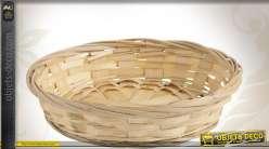 Corbeille ronde en bambou Ø 15 cm