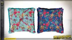 COUSSIN POLYESTER 45X45 0,45 FLORAL 2 MOD.