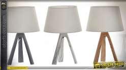 LAMPE DE TABLE RÉSINE 20X20X31 3 MOD.
