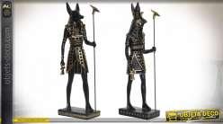 FIGURE RÉSINE 11X7X36 EGYPTE 2 MOD.