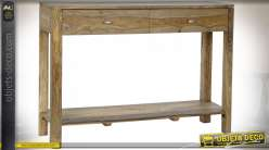 CONSOLE SHEESHAM 110,5X32X76,5 NATUREL