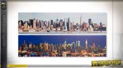 TABLEAU TOILE 120X30X2 NEW YORK 2 MOD.