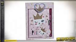 JOURNAL CARTON 14,5X2,5X19,5 LITTLE PRINCESS