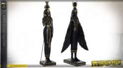 FIGURE RÉSINE 12X13X36 EGYPTE 2 MOD.