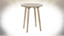 TABLE AUXILIAIRE MANGUE 46X46X52,5 NATUREL