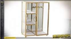 Coffret à bijoux vitré style glam moderne, 24.5cm