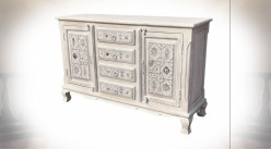 COMMODE MANGUE MÉTAL 150X40X90
