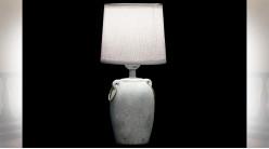 LAMPE DE TABLE PORCELAINE 15X15X32 2 MOD.