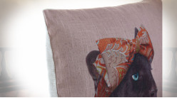COUSSIN POLYESTER 45X10X45 400 GR, ANIMAL 2 MOD.
