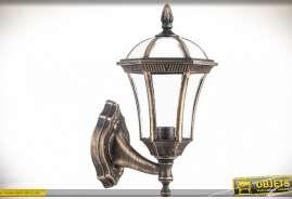 Applique murale aspect vieil or pour intérieur ou extérieur (norme IP44)