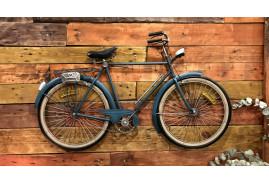 Décoration murale en métal en forme d'ancien vélo, ambiance rétro vintage