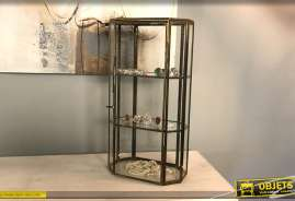 Vitrine à poser de 3 niveaux pour exposition de bijoux ou de pierres