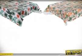 NAPPE PVC TISSU 180X240 0,11 TROPICAL 2 MOD.