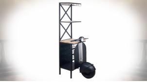 Meuble bar de style industriel en forme d'ancienne Vespa 180 cm