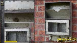 Meuble de rangement étagère murale de style industriel