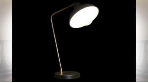 LAMPE DE TABLE MÉTAL 21X37X52 NOIR