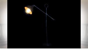 LAMPE DE TABLE MÉTAL 55X16X72 MARRON
