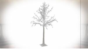 ARBRE LED PVC 20X20X150 200 LEDS BLANC