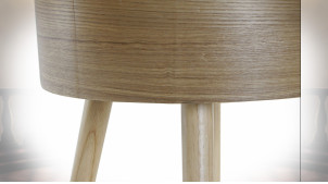 BANQUETTE MDF POLYESTER 40X40X41 NATUREL
