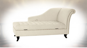 CHAISE LONGUE POLYESTER MOUSSE 165,5X69X83 165,5
