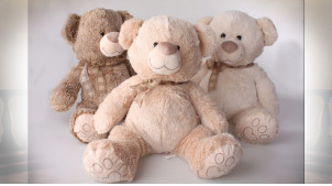 PELUCHE POLYESTER 20X50 OURS 3 MOD.