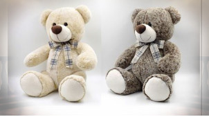 PELUCHE POLYESTER 20X25X40 OURS 2 MOD.