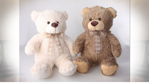 PELUCHE POLYESTER 20X45 OURS 2 MOD.