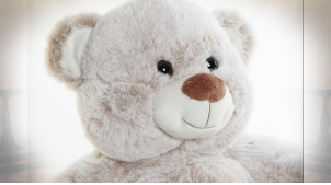 PELUCHE POLYESTER 20X10X30 OURS 2 MOD.