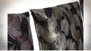 COUSSIN POLYESTER 45X10X45 400 GR. PLUMES 3 MOD.
