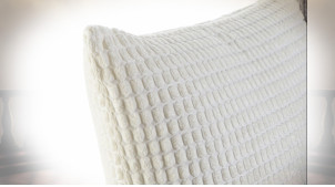 COUSSIN POLYESTER 45X10X45 400 GR. VELOURS 3 MOD.