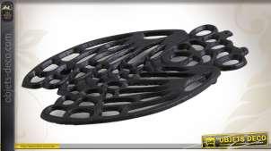 Dessous de plat cigale stylisée en fonte