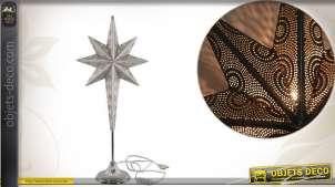 Grande lampe de table étoile