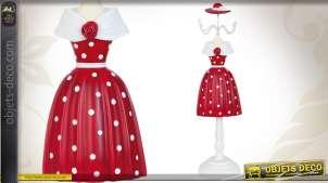 Mannequin porte-bijoux La robe rouge