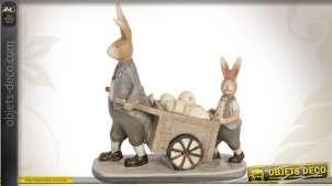 Personnages décoratifs de Pâques