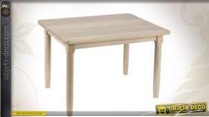 Table en hêtre naturel pour enfant
