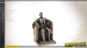Statuette décorative : Abraham Lincoln