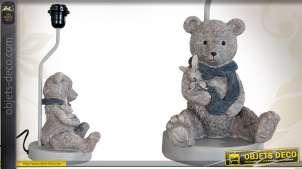Pied de lampe décoratif de style enfantin